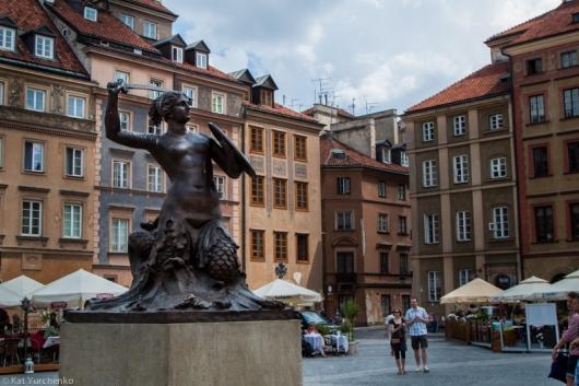 Stare Miasto - Casco Viejo de Varsovia